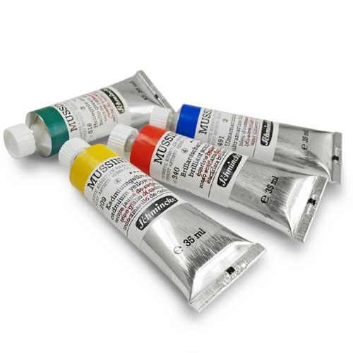 schmincke mussini colori olio