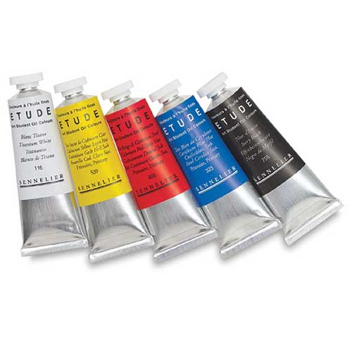 sennelier etude colori olio