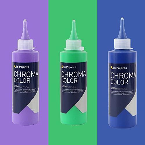 croma color pajarita acrilici