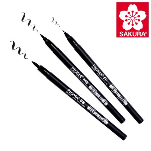 Sakura pigma professioal brush