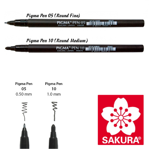 Sakura pigma pen