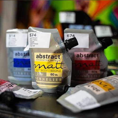 Abstract matt
